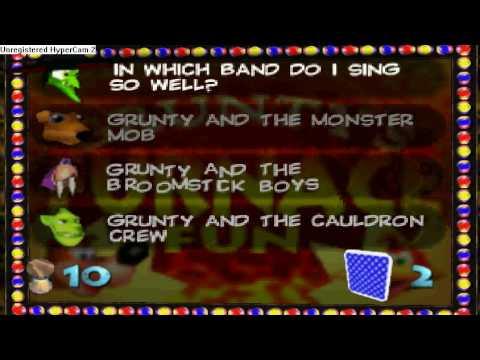 Banjo-Kazooie Walkthrough: Grunty's Furnace Fun Part I ...