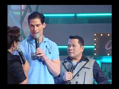 Travis Kraft with Eugene Domingo and Allan K