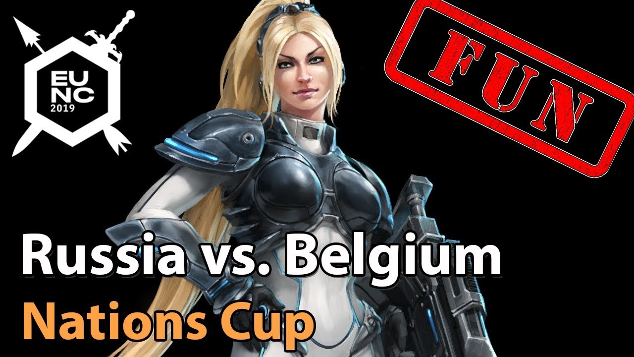► FUN: Russia vs. Belgium - Nations Cup - Heroes of the Storm Esports