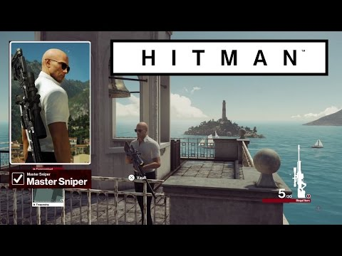 HITMAN: All Master Sniper Challenge: Sharp Shooter - I Aim To Please - Out Of Sight - Over Scoped