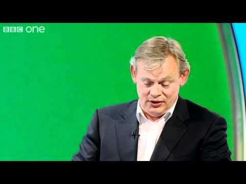 Does Martin Clunes Spice Up His Dressing Routine?  Would I Lie To You? Series 4 Episode 9  BBC One