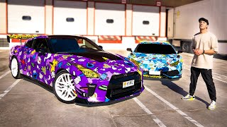 YOU WON'T BELIEVE THE NEW GT-R WRAP *reveal*