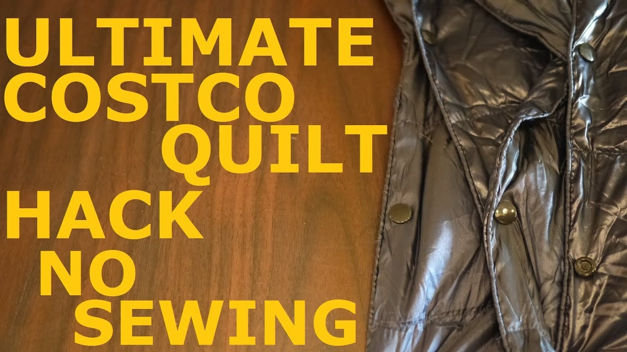 ultimate costco quilt hack for underquilts or liners ultimate costco quilt hack for underquilts or liners   youtube  rh   youtube