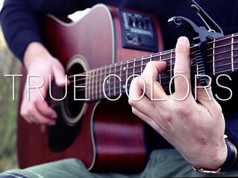 (Justin Timberlake, Anna Kendrick) True Colors - Fingerstyle Guitar Cover (with TABS)