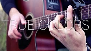 justin-timberlake-anna-kendrick-true-colors-fingerstyle-guitar-cover-with-tabs