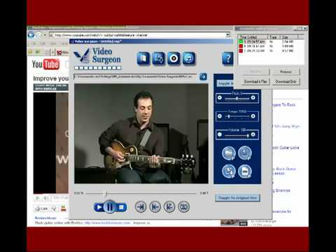 Video Surgeon for Guitarists - Slow Down Video, Zoom, Loop, Video ...