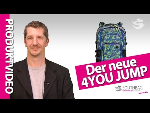 4you schulrucksack jampac jump produktvideo youtube. Black Bedroom Furniture Sets. Home Design Ideas