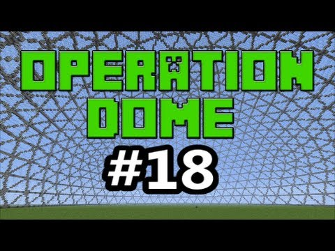 Minecraft Xbox 360 - Operation Dome #18 - More Talk of Nintendo and Why is My PVR Glitching Up?