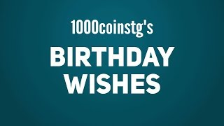 Coins presents: birthday wishes