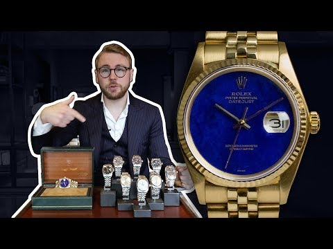 SPECIAL ROLEX DATEJUST DROP - This Week&39;s Watches 75