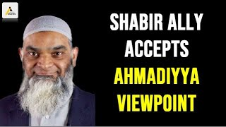 Shabir Ally Accepts the Ahmadiyya Viewpoint - Donkey of Dajjal