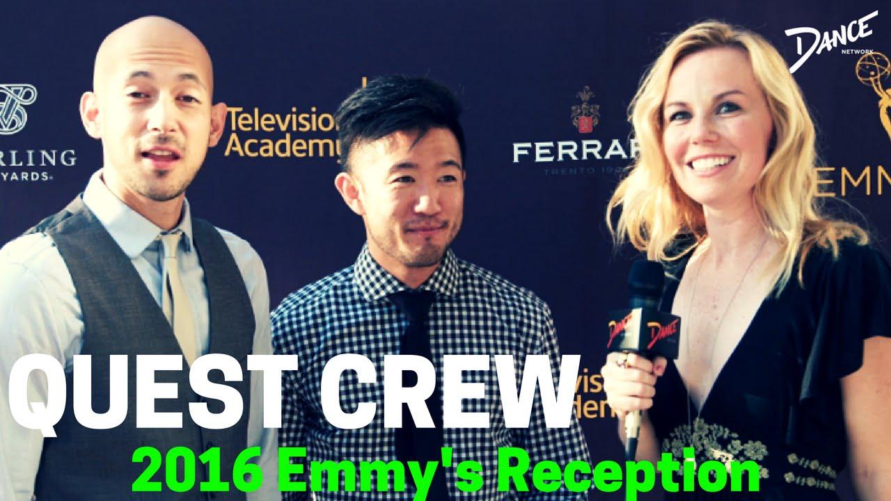 Emmys Reception 2016: Kristyn Burtt Interviews Quest Crew