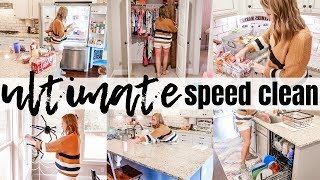 NEW! 2019 ULTIMATE SPEED CLEAN | MASSIVE CLEAN & DECLUTTER | EXTREME CLEANING MOTIVATION | SAHM