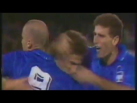 14 ottobre 1992 - Italia-Svizzera 2-2 (Qualificazioni Mondiali) - Almanacchi Azzurri
