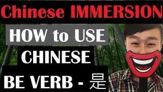 How to use Chinese to BE verb-是 ? | Speak like a native | Learn Real Mandarin