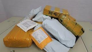 Куча посылок из Китая с AliExpress!!