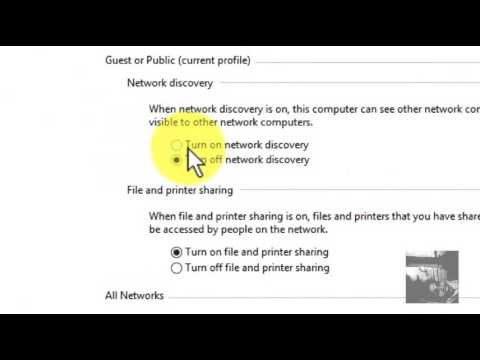 network discovery windows 8 wont turn on