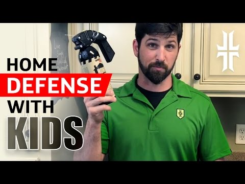 Home Defense Plan with Kids