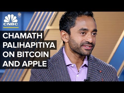 Social Capital's Chamath Palihapitiya On Apple, Bitcoin, And