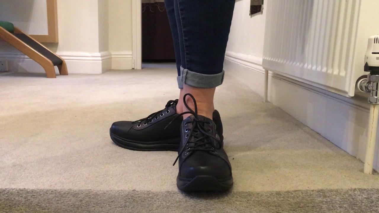 Black Paris Leather Shoes 2 Joya Womens qVpGSMUz
