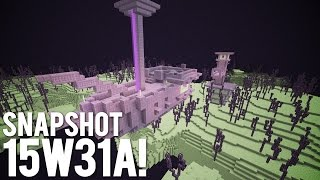 Minecraft Snapshot 15w31a in Under 5 Minutes