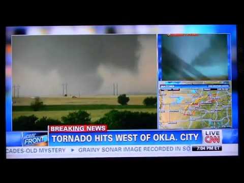 EF5 Multi Vortex Wedge Tornado Near El Reno, Oklahoma ...