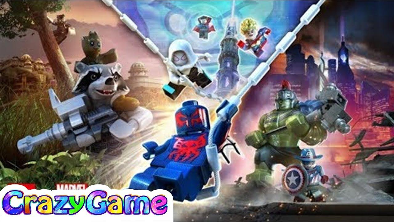 Lego Marvel Super Heroes 2 Complete Story 7 Hour Gameplay Walkthrough