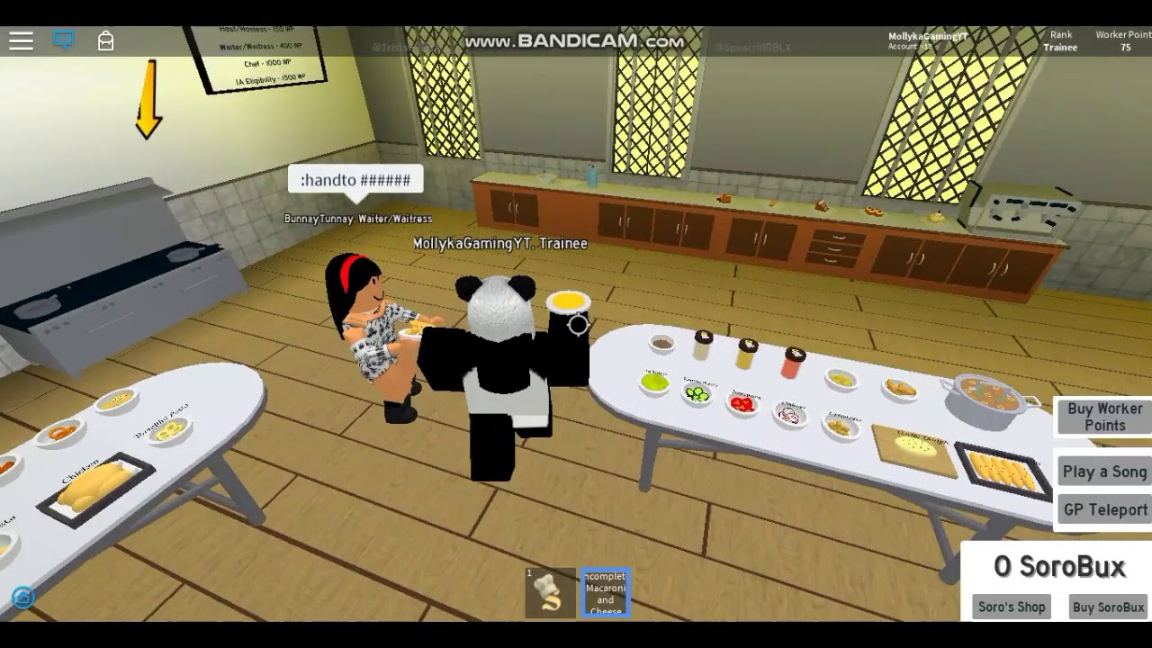 Roblox How To Cook Serve In Soro S Restaurant