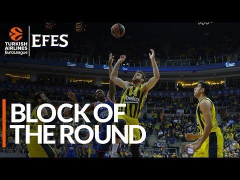 Efes Block of the Round: Nicolo Melli, Fenerbahce Beko Istanbul