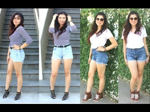 ootd-how-i-dress-up-&-down-high-waisted-shorts!