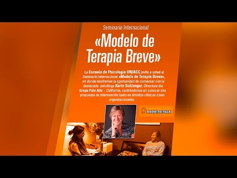 """Seminario Internacional de Psicología en UNIACC: """"Modelo de Terapia Breve"""""""