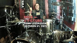Back To The Future - The Power Of Love - Drum Cover - Huey Lewis and The News - October 21, 2015