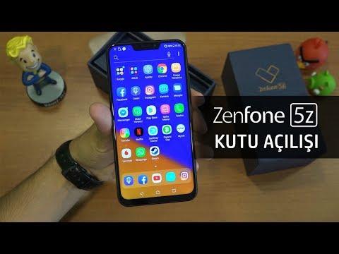 Asus Zenfone 5Z Ön İnceleme / Kutu Açılışı