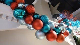 How to Make Christmas Ornament Garland