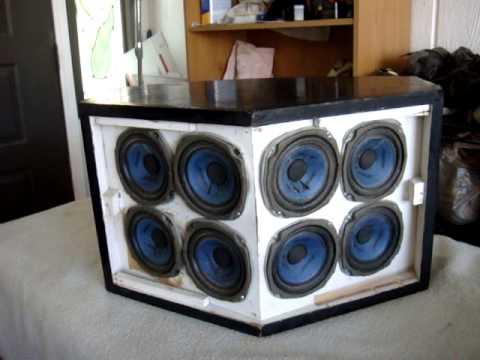 Vintage BOSE 901 Speaker System How SOUND Working