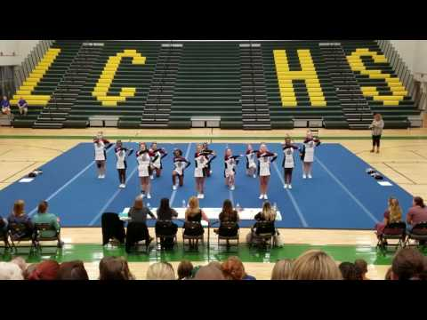 Chancellor High School Conference 19 Cheer Competition 2016