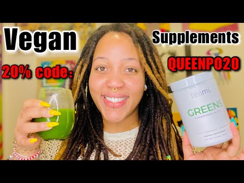 My Vegan Supplements: PlantBased Green Superfood Supplement & Herbal Supplement for Energy & Focus