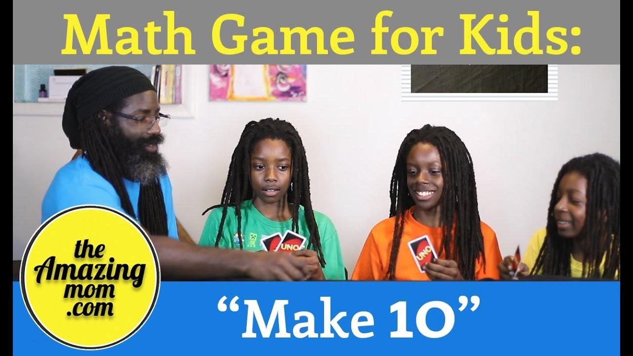 """Math Game: """"Make Ten"""""""