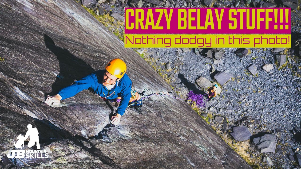 Crazy Belay Stuff, What Not To Do!