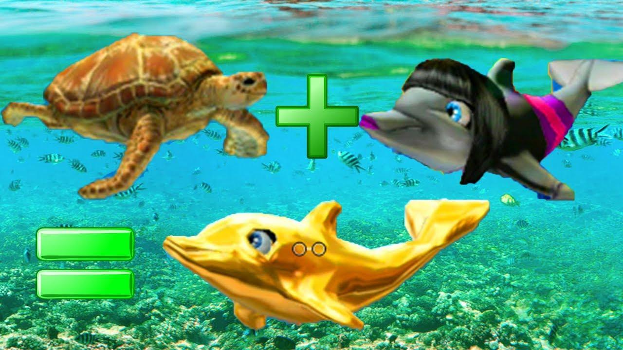 Барби и волшебные дельфины барби спасает дельфинов Золотой ...