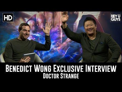 Doctor Strange - Exclusive Interview - Benedict Wong