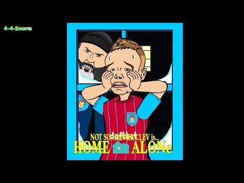 🎬FOOTBALL CHRISTMAS MOVIES🎬 Roy Keane Tom Cleverley in HOME ALONE (Day 22 Advent cartoon)