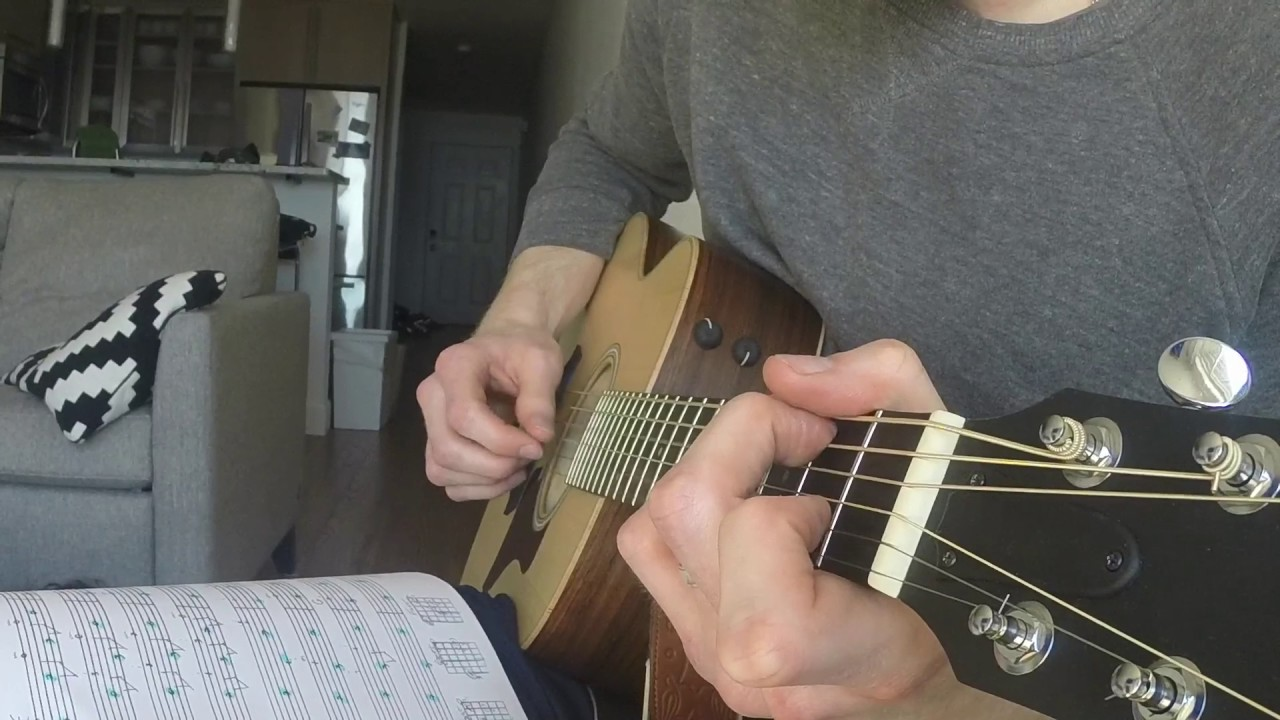 I Shall Not Be Moved Mississippi John Hurt Fingerstyle Guitar