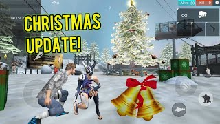 NEW CHRISTMAST UPDATE! (Smoke Barrels + Antonio!) - Garena Free Fire