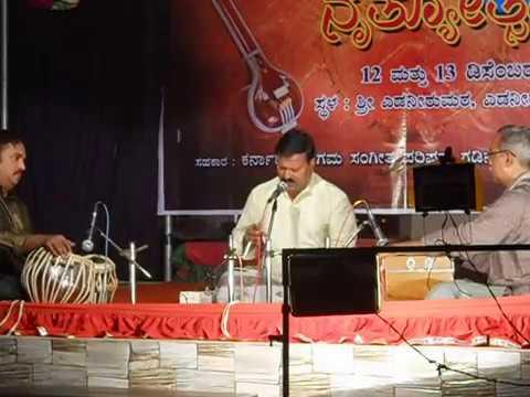 Pt.Mounesh kumar Chavni Concert at Edneer