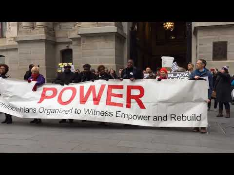 Protesters march from police headquarters to City Hall to demand accountability after Philadelphi...