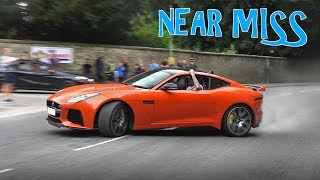 Supercars Leaving a Car Show - August 2018