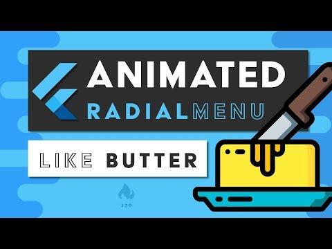 Flutter Animated Radial Menu