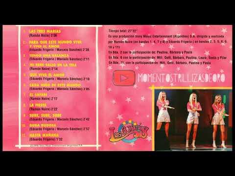 Las Trillizas De Oro - La música de Las Tres Marías - CD Completo