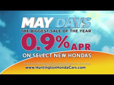 New Honda Savings - Huntington Honda's May Days Sale